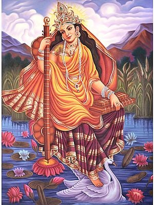 Goddess of Wisdom - Saraswati