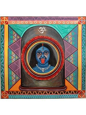 Union of Kali and Shiva: A Tantrika Vision