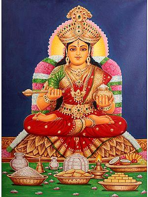 The Goddess Annapurna