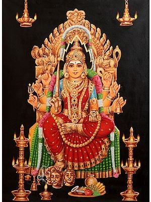 Mari-Amma: A South Indian Transform of Goddess Durga