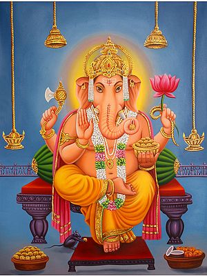 His Majesty Lord Ganesha