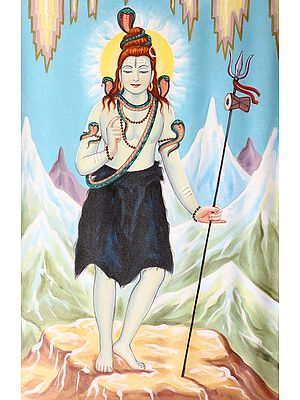 Shiva on Kailash