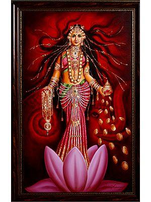 Lakshmi, The Goddess of Abundance
