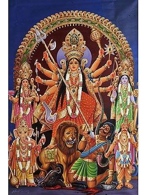 Mahishasura-Mardini Ten-armed Durga