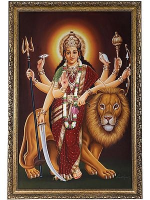 The Placid Devi Durga (Framed)