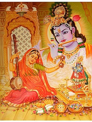 Mirabai and Krishna