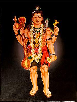 The Inspired Veenadhari Mahadeva