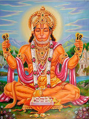 Lord Hanuman Sings Bhajans of Rama