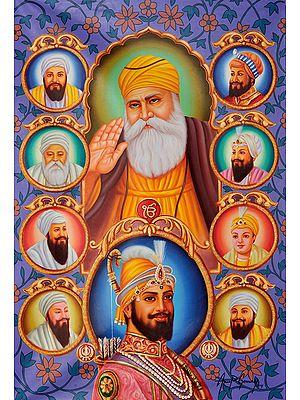 The Ten Sikh Gurus