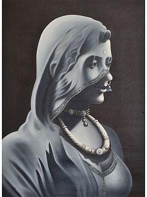 Rajasthani Lady with Veil