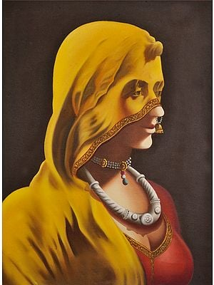Rajasthani Lady with Veil