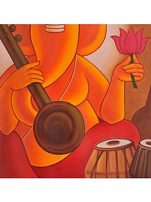 Lord Ganesha - The Musician