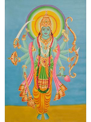 The Cosmic Form of Lord Vishnu
