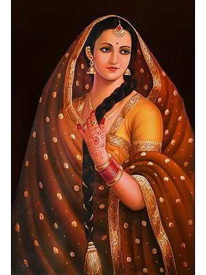 Ornamented Lady