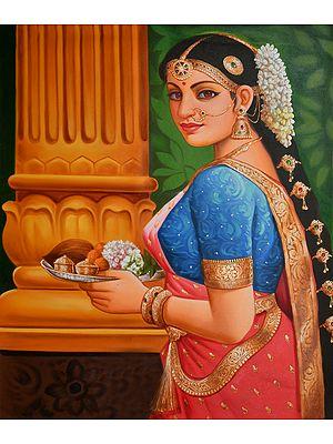 Gaze Of Womanly Devotion