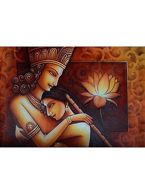 The Inseperable Radha Krishna