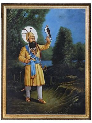 Guru Gobind Singh - The Warrior Guru (Framed)