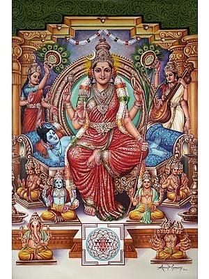 Saguna Adi Parashakti Devi Rajarajeshwari