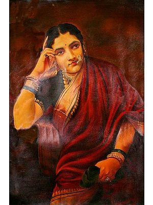 Portrait of a Deccani Lady
