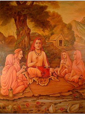 Shankaracharya and Disciples