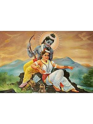 Shri Rama and Sita in Exile