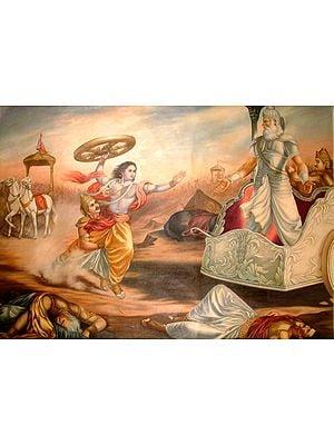 The Battlefield of Kurukshetra