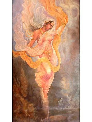 The Descent of Goddess Ganga from Heaven