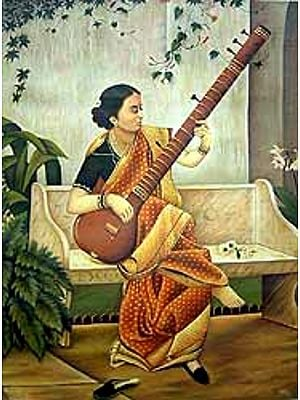 The Veena Player