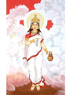 Navadurga - The Nine Forms of Goddess Durga - BRAHMACHARINI
