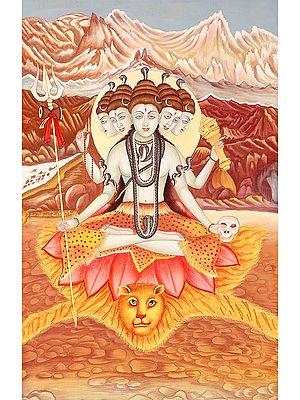 Five-headed Sadashiva