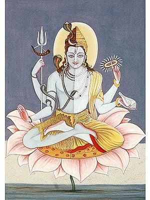 HariHara (Composite Image of Shiva and Vishnu)