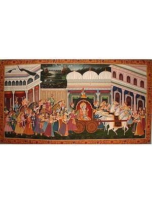 Krishna's Mathura Gaman
