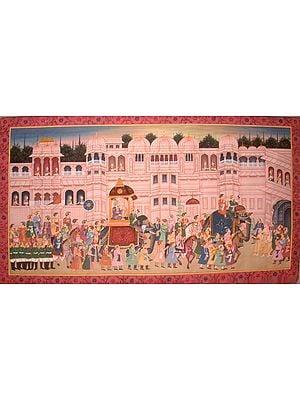 Mughal Procession