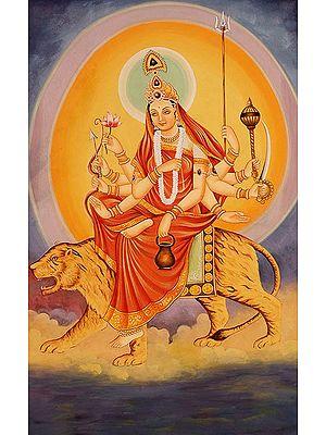 Navadurga - The Nine Forms of Goddess Durga - CHANDRAGHANTA