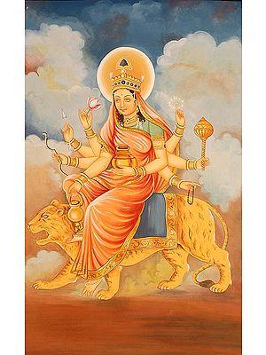 Navadurga - The Nine Forms of Goddess Durga - KUSHMANDA