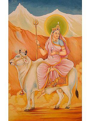 Navadurga - The Nine Forms of Goddess Durga - SHAILAPUTRI