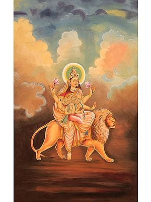 Navadurga - The Nine Forms of Goddess Durga - SKANDA MATA (The Fifth)