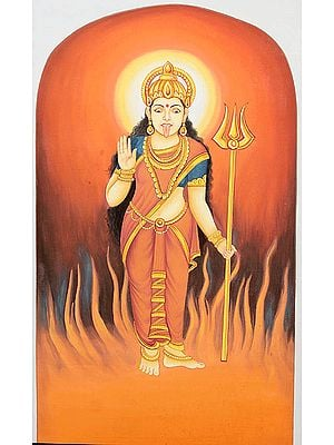 Rare Goddesses of India Series Jwaala Devi