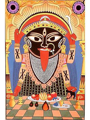 Ritual of Kali Puja