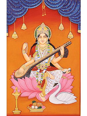 Saraswati - Goddess of Knowledge and Arts