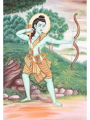 Shri Rama in Exile