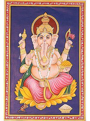 The Benevolent God Shri Ganesha