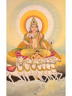 The Twelve Forms of the Sun (Surya) - BHAGA