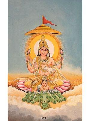 The Twelve Forms of the Sun (Surya) - TVASHTA