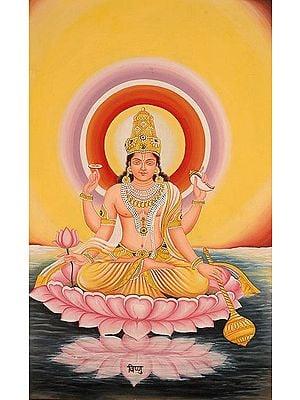 The Twelve Forms of the Sun (Surya) - VISHNU