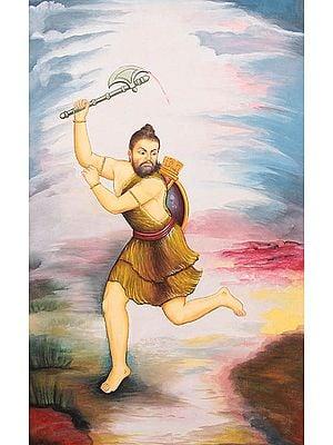 Parashurama, Incarnation of Vishnu and Annihilator of the Kshatriyas