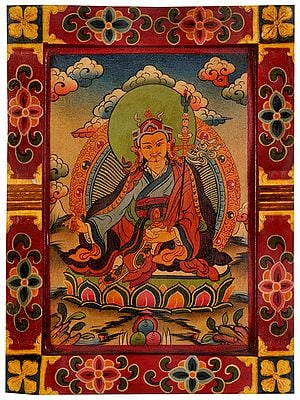 Tibetan Buddhist Deity Padmasambhava
