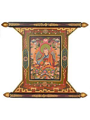 (From Nepal) Padmasambhava - Tibetan Buddhist Deity