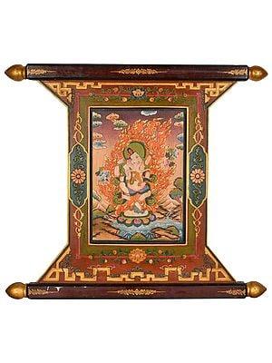 Nrtya Ganesha Thangka (Made In Nepal)