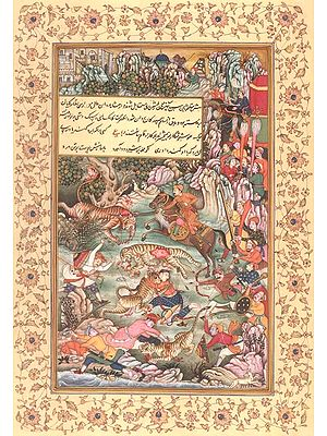 Akbar Hunting Tigers